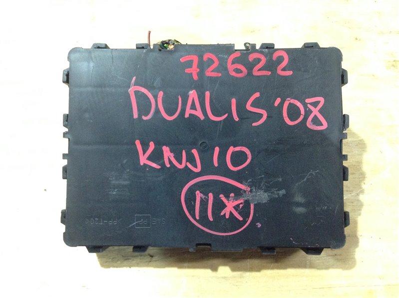 Блок электронный Nissan Dualis KNJ10 MR20DE 2008 72622, 284B2-JE00B (б/у)