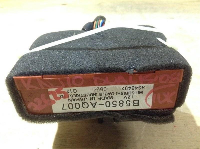 Блок управления парктроником Nissan Dualis KNJ10 MR20DE 2008 72625, B5850-AQ007 (б/у)