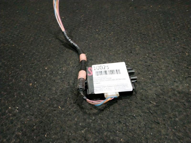Блок электронный Toyota Ractis SCP100 89784-52011 / 626933-000 32 ящик, (б/у)