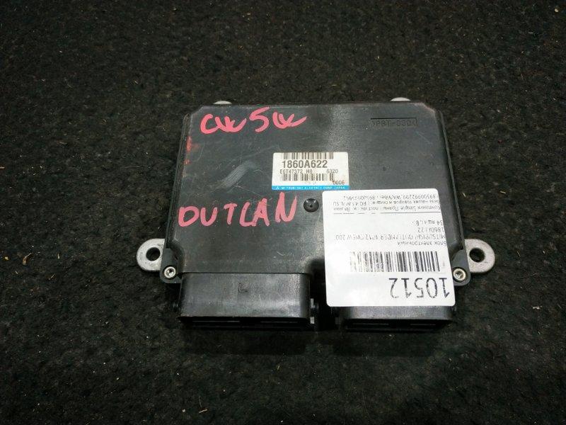 Блок электронный Mitsubishi Outlander CW5W 4B12 2007 1860A622, E6T47372. 34 ящик, B3 (б/у)