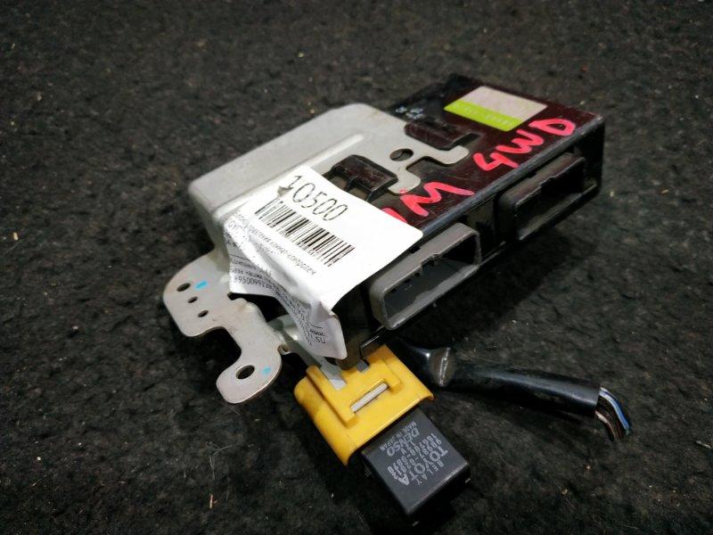 Блок управления климат-контролем Toyota Raum EXZ10 34 ящик, B3, Ч.04.17 (б/у)