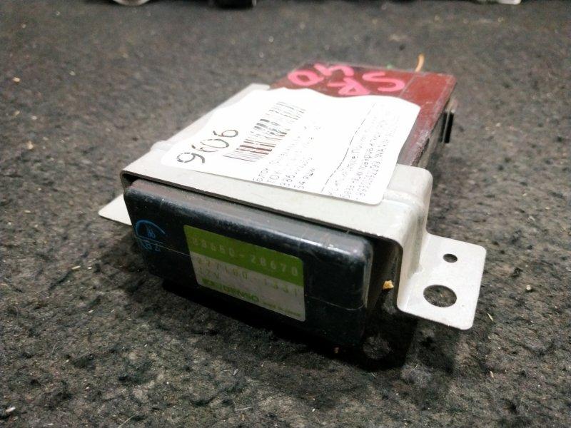Блок управления климат-контролем Toyota Town Ace Noah SR40 34 ящик, (б/у)