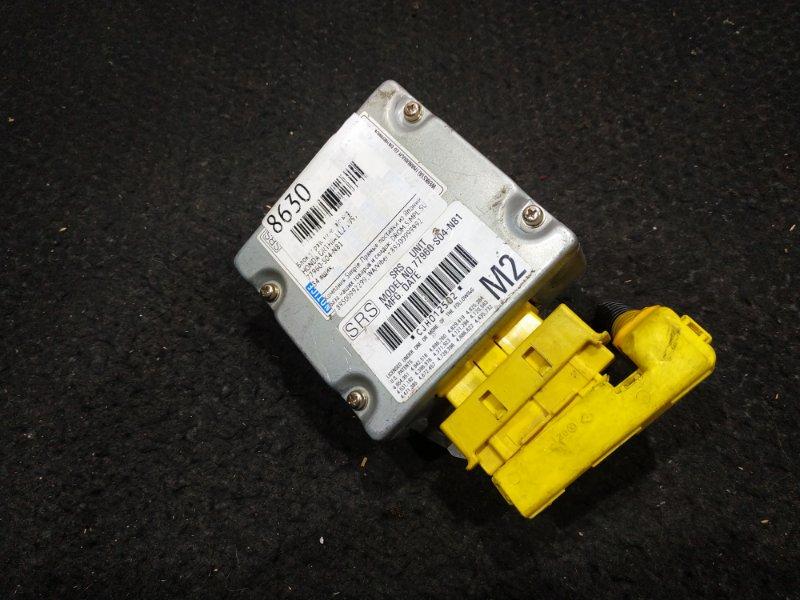 Блок управления airbag Honda Orthia EL2 1997 34 ящик, (б/у)