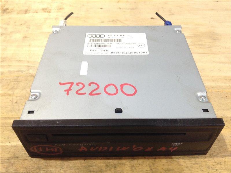 Блок управления навигацией Audi A4 B8 CDH 2008 72200, 86841-70V690, 8T0919888 H31 (б/у)