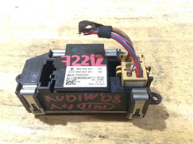 Резистор Audi A4 B8 CDH 2008 72212, 8K0820521, K5909002 Регулятор вентилятора. (б/у)