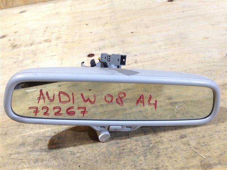 Зеркало заднего вида салонное Audi A4 B8 CDH 2008 72267 (б/у)