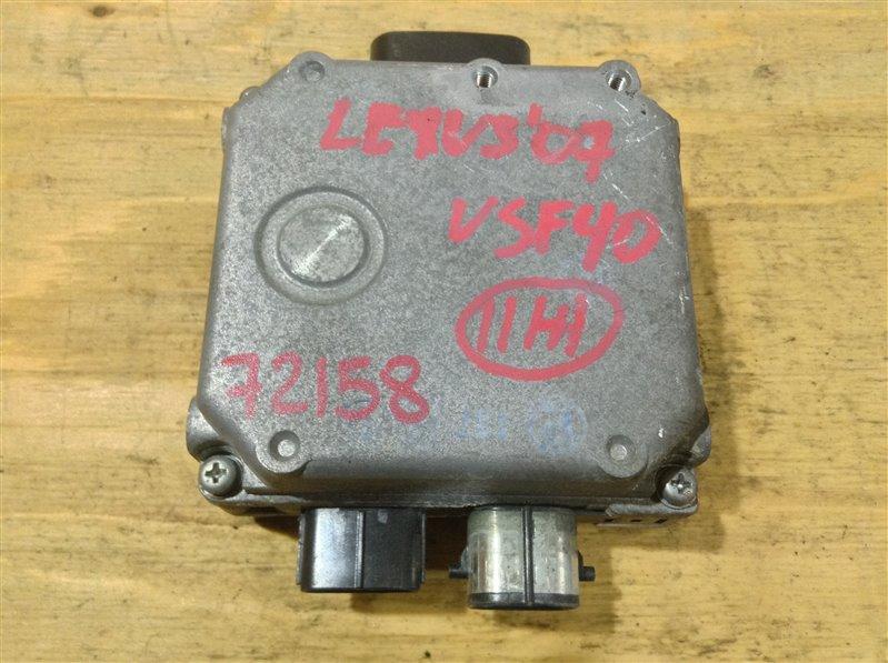 Блок управления Lexus Ls460 USF40 1UR 2007 72158, 89650-50150, 112900-1376, 0-G1102-00070 (б/у)