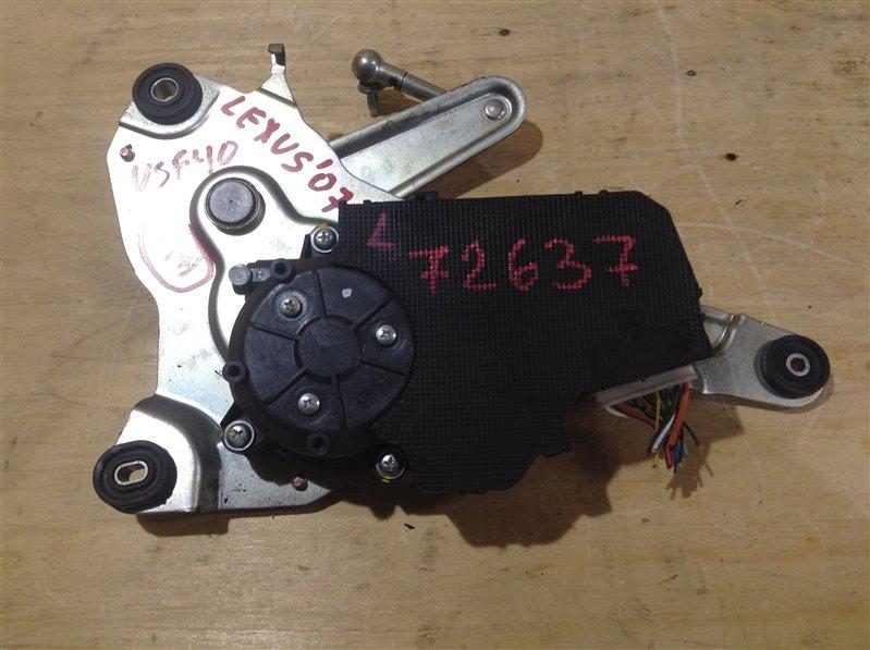 Механизм подъема двери Lexus Ls460 USF40 1UR 2007 72637, 85790-50010 Механизм подъема крышки (б/у)