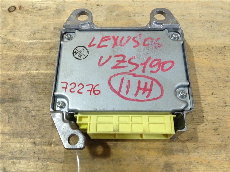 Блок управления airbag Lexus Gs430 UZS190 3UZ 2006 72276, 89170-30500, 152300-8602 (б/у)