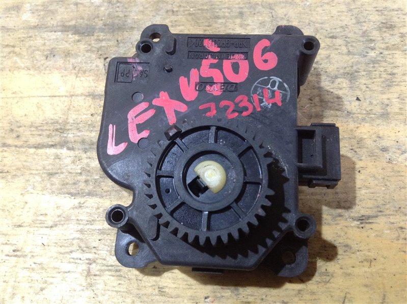 Мотор заслонки печки Lexus Gs430 UZS190 3UZ 2006 72314, 063800-0171 (б/у)