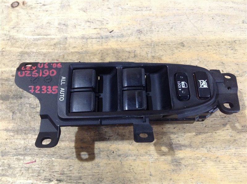 Блок управления стеклоподъемниками Lexus Gs430 UZS190 3UZ 2006 72335, 84040-30140 (б/у)