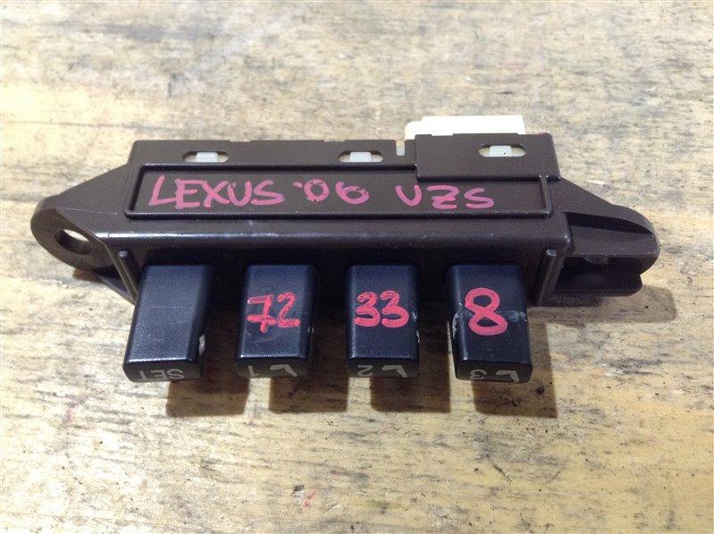 Кнопка памяти сидений Lexus Gs430 UZS190 3UZ 2006 72338 (б/у)
