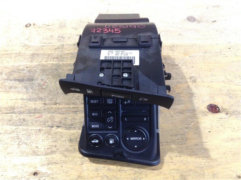 Блок управления зеркалами Lexus Gs430 UZS190 3UZ 2006 72345, 84010-30431 В сборе с кнопкой (б/у)