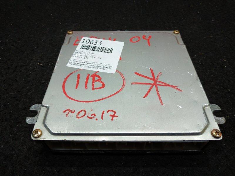 Блок управления двс Honda Edix BE1 2004 43 ящик, Ч.06.17 (б/у)