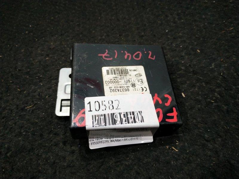 Блок электронный Mitsubishi Galant Fortis CY4A 4B11 2009 8637A392 / 116RI-000003 43 ящик, Ч.04.17 (б/у)