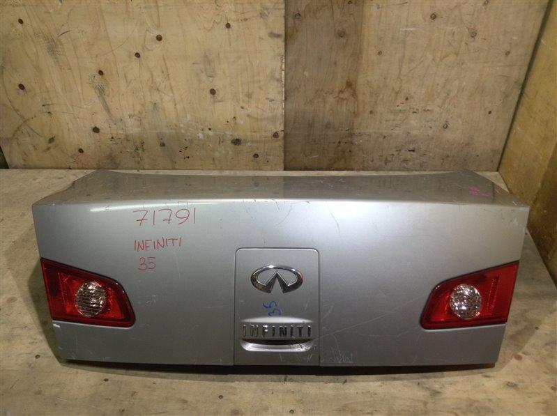Крышка багажника Infiniti G35 V35 71791 (+14.05.20) С петлями. (б/у)
