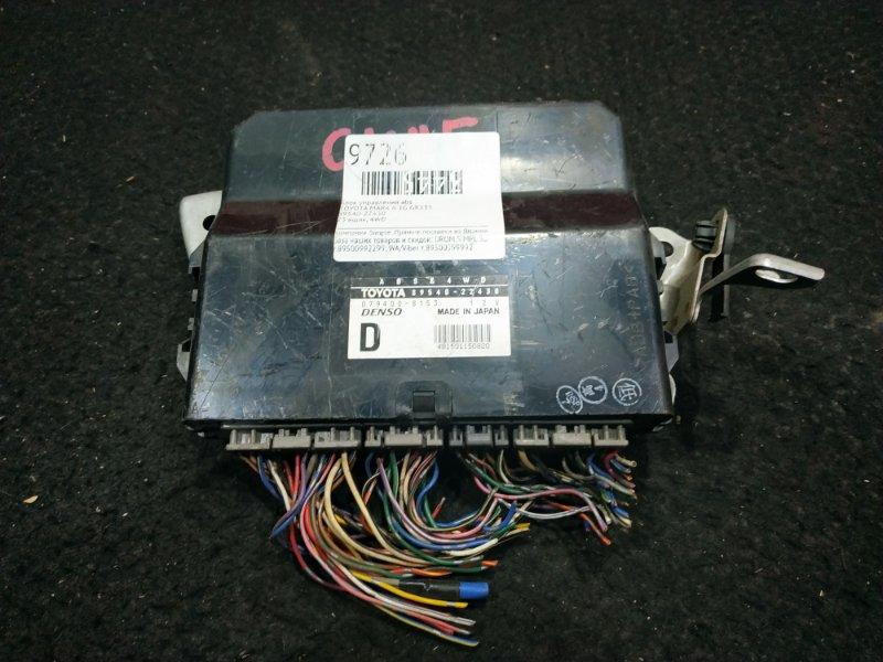 Блок управления abs Toyota Mark Ii GX115 1G 23 ящик,  4WD (б/у)