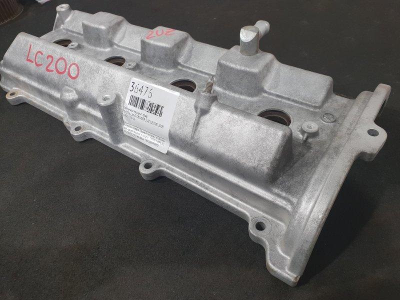 Крышка головки блока цилиндров Toyota Land Cruiser UZJ200 2UZ 2008 правая (б/у)