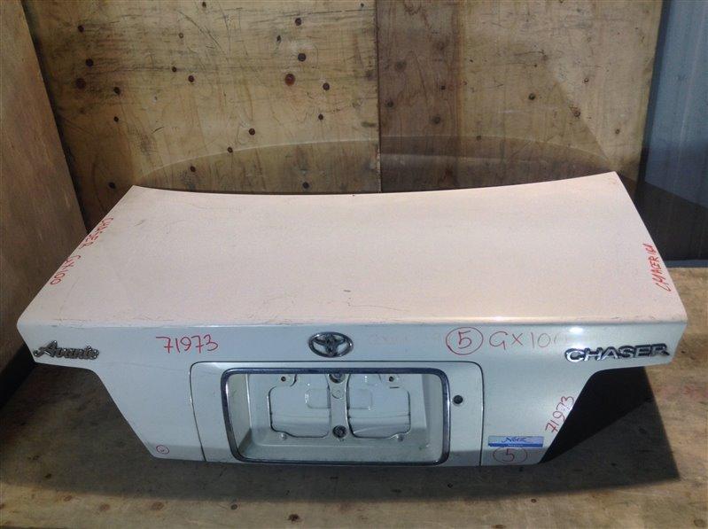 Крышка багажника Toyota Chaser GX100 71973 (+21.05.20) 11С.[Т] (б/у)