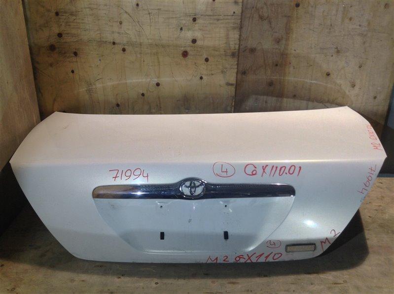 Крышка багажника Toyota Mark Ii GX110 2001 71994 (+21.05.20) 11С.[Т] (б/у)