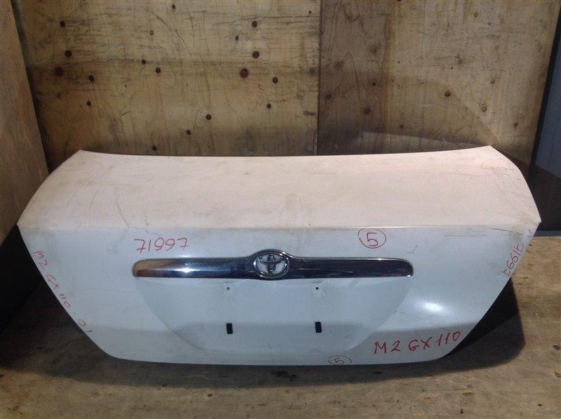 Крышка багажника Toyota Mark Ii GX110 2001 71997 (+21.05.20) 11С.[Т] (б/у)