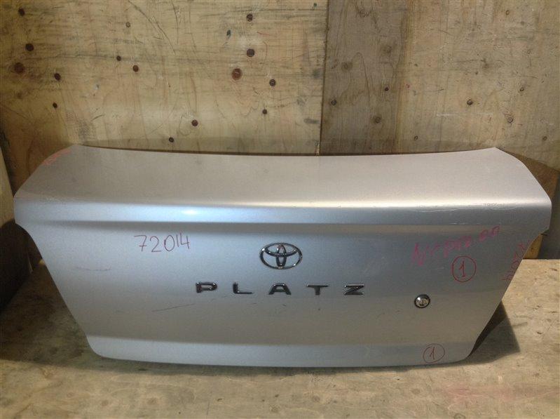 Крышка багажника Toyota Platz SCP11 2000 72014 (+21.05.20) Без обшивки. 11С.[Т] (б/у)