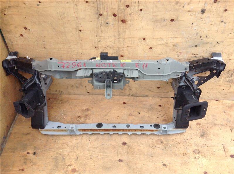 Рамка радиатора Nissan Note E11 2010 72961 (б/у)