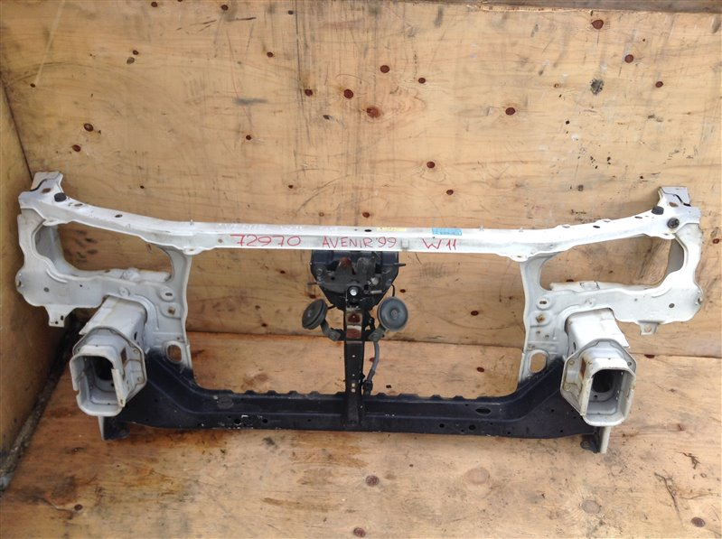 Рамка радиатора Nissan Avenir PW11 1999 72970 (б/у)