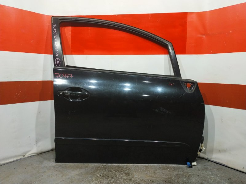Дверь боковая Toyota Blade AZE154 2007 передняя правая 70477 (+27.04.20) Снято стекло. 11ВТ. Цена (б/у)