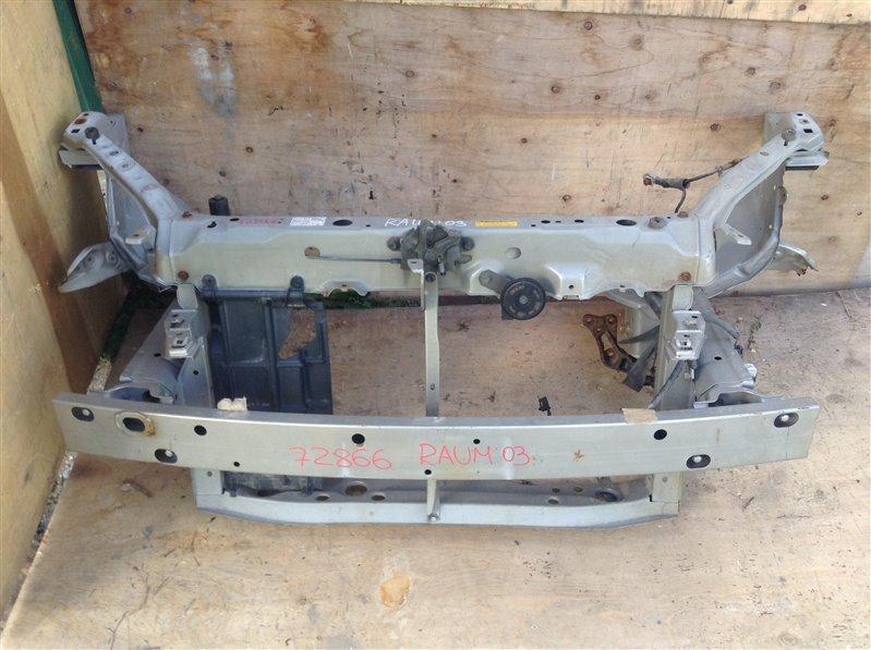 Жесткость бампера Toyota Raum NCA25 2003 передний 72866 Телевизор продается отдельно. (б/у)