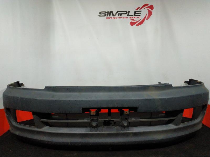 Бампер Toyota Town Ace SR50 3S 1999 передний Дорестайл, SK,без заглушек, грузопасс. (б/у)
