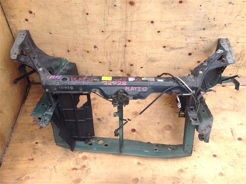 Рамка радиатора Toyota Platz NCP12 72928 (б/у)