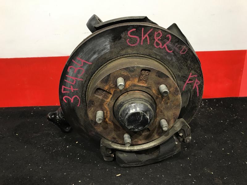 Ступица Mazda Bongo SK82 F8 2002 передняя правая Задний привод. Продаётся только в сборе. (б/у)