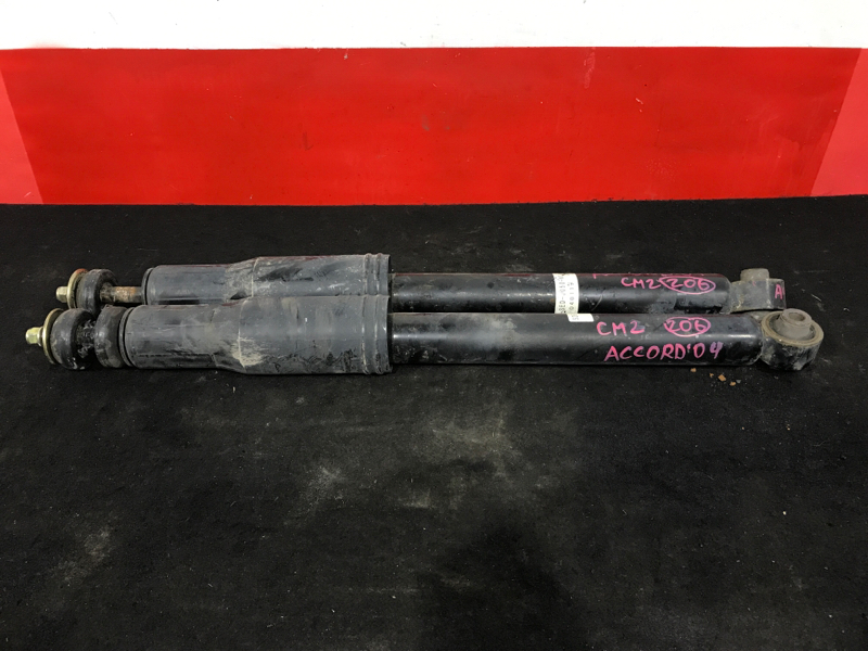 Амортизатор Honda Accord CM2 K24A 2003 задний левый Продаются парой. Цена указана за штуку. (б/у)