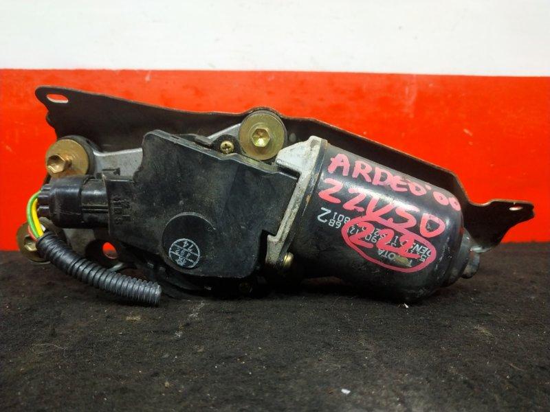 Мотор стеклоочистителя Toyota Vista Ardeo ZZV50 1ZZ 2000 Только моторчик. (б/у)