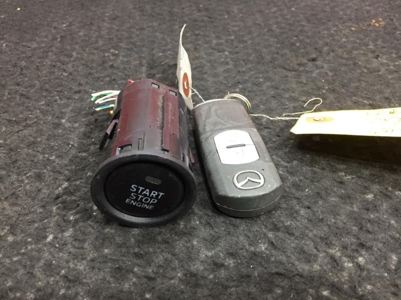 Ключ зажигания, смарт-ключ Mazda Cx-5 KE2AW SH 2014 (б/у)