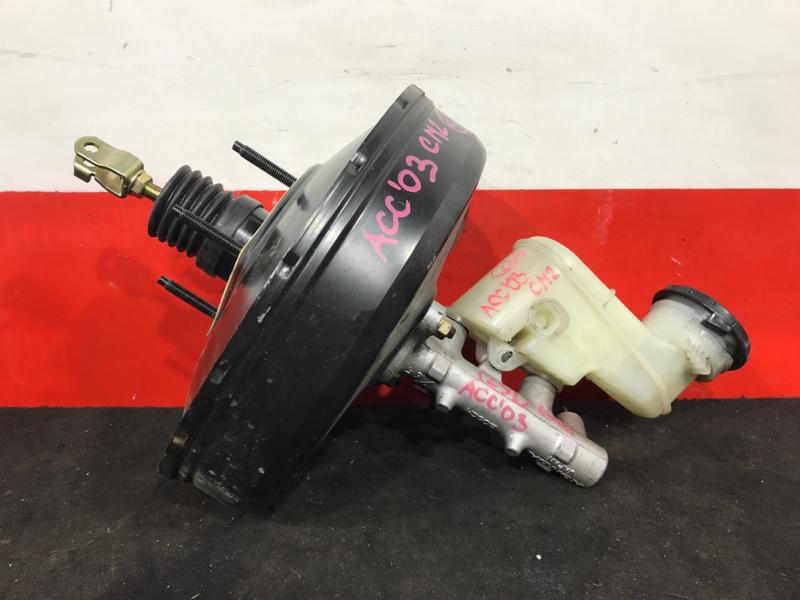 Вакуумный усилитель тормозов Honda Accord CM2 K24A 2003 Цена за комплект ГТЦ + вакуумный (б/у)