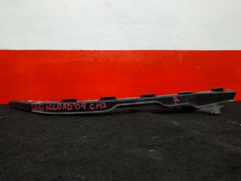Планка под фару Honda Accord CM2 K24A 2004 передняя правая (б/у)