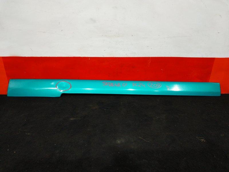 Накладка на крыло Nissan Serena PC24 SR20 2001 задняя правая Крышка полозьев сдвижной двери. (б/у)