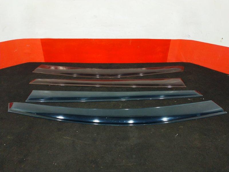 Комплект ветровиков Nissan Tiida C11 HR15 2009 Разные цвета по сторонам. (б/у)