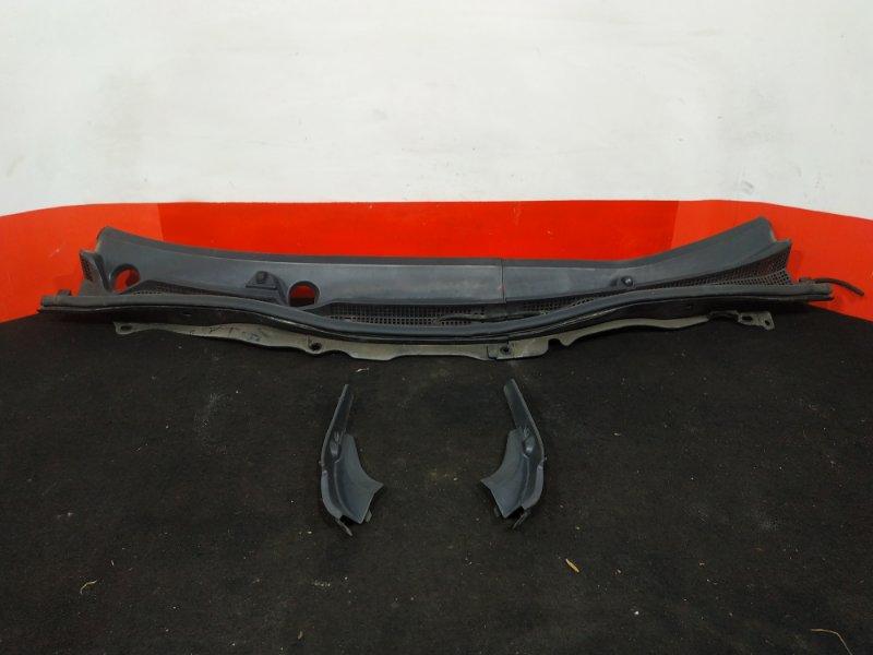 Решетка, жабо под дворники Mazda Demio DE3FS ZJ 2007 В сборе с уголками. (б/у)