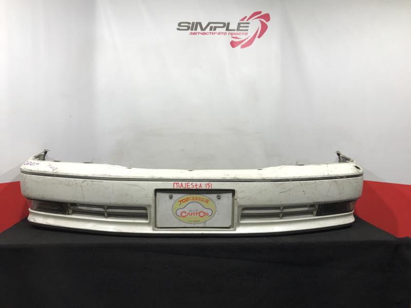 Бампер Toyota Crown Majesta JZS155 1996 передний Снята антенна. (б/у)