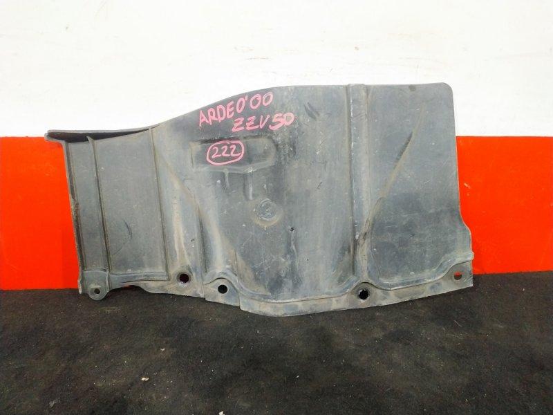 Защита двигателя Toyota Vista Ardeo ZZV50 1ZZ 2000 левая Боковая. (б/у)
