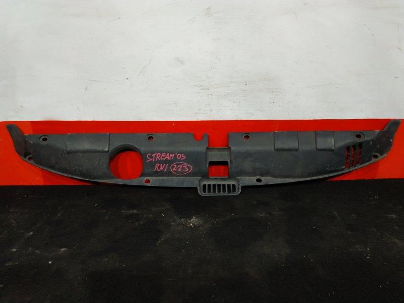 Дефлектор радиатора Honda Stream RN1 D17A 2003 (б/у)
