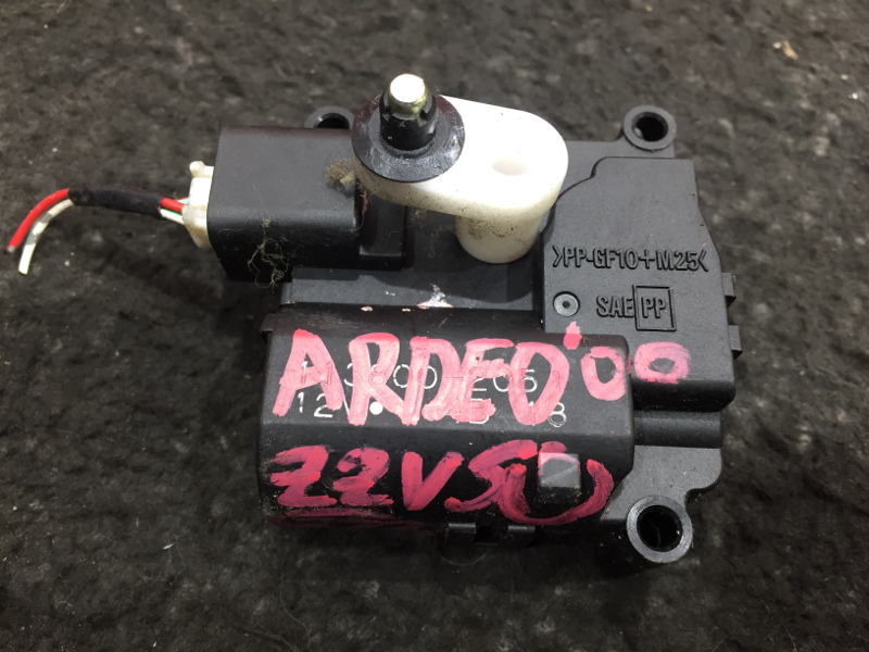 Мотор заслонки печки Toyota Vista Ardeo ZZV50 1ZZ 2000 113800-2051 (б/у)