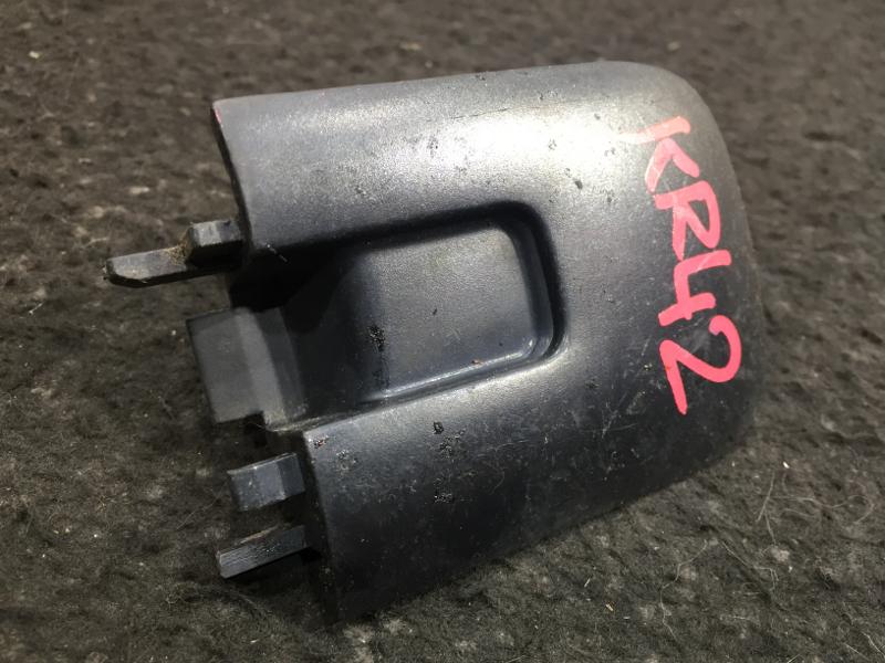 Накладка на крыло Toyota Lite Ace Noah KR42 7K 2003 задняя правая Заглушка полозьев сдвижной (б/у)