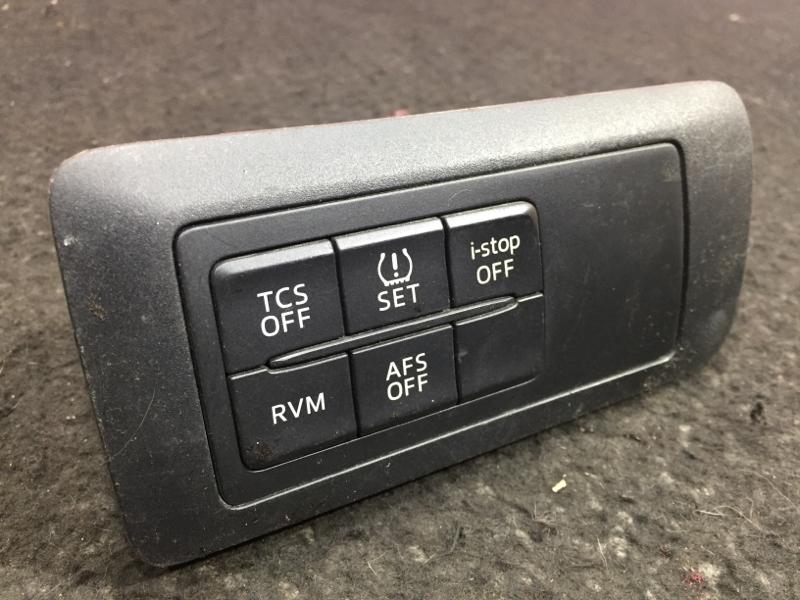 Блок кнопок Mazda Cx-5 KE2AW SH 2014 TCS OFF; SET; i-stop OFF; AFS OFF; RVM (б/у)