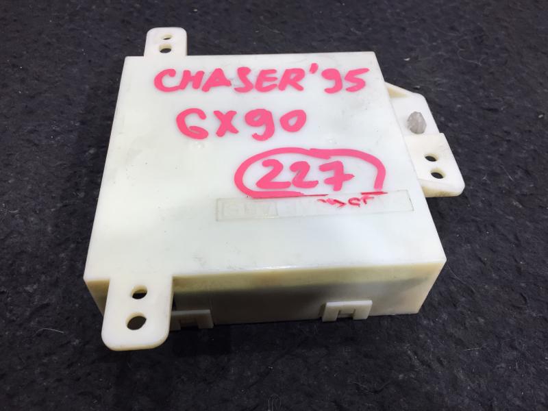 Блок электронный Toyota Chaser GX90 1G 1995 Блок управления климат-контролем. 13 ящик. (б/у)
