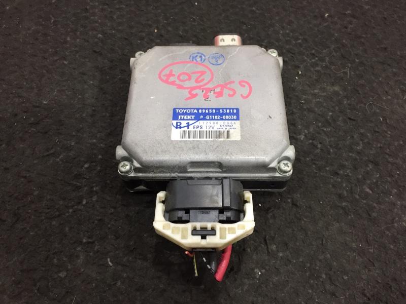 Блок управления рулевой рейкой Lexus Is250 GSE25 4GR 2006 112900-0866 42 ящик. (б/у)