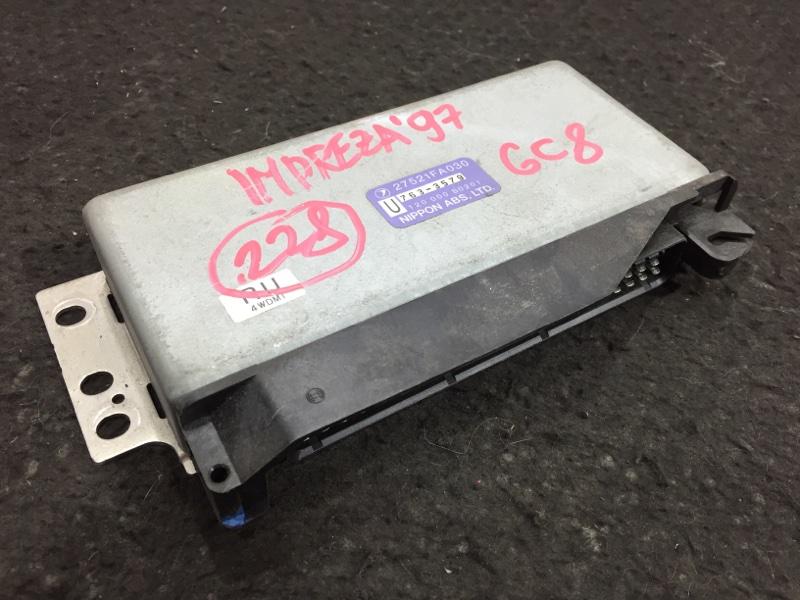 Блок электронный Subaru Impreza GC8 EJ20K 1997 19 ящик. (б/у)